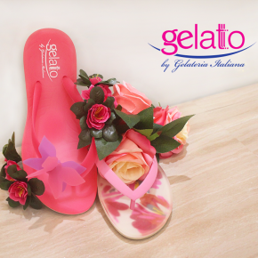 Spring, flowers, and Gelattto!